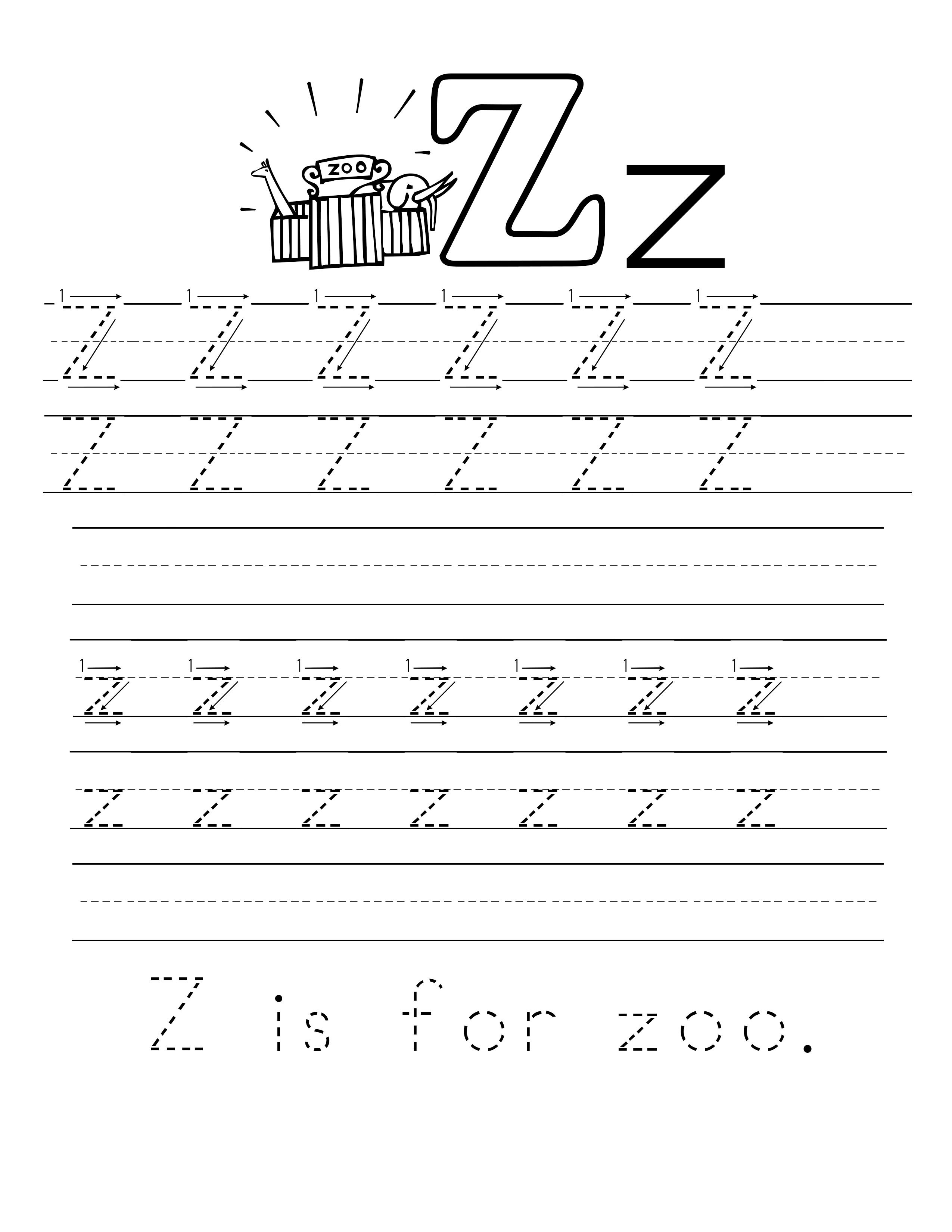 Free A-Z Printable Alphabet Worksheets – Mia\'s Musings