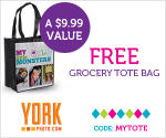 FREE Photo Tote Bag From York